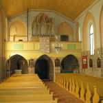 Unutrasnjost crkve u Jermenovcima