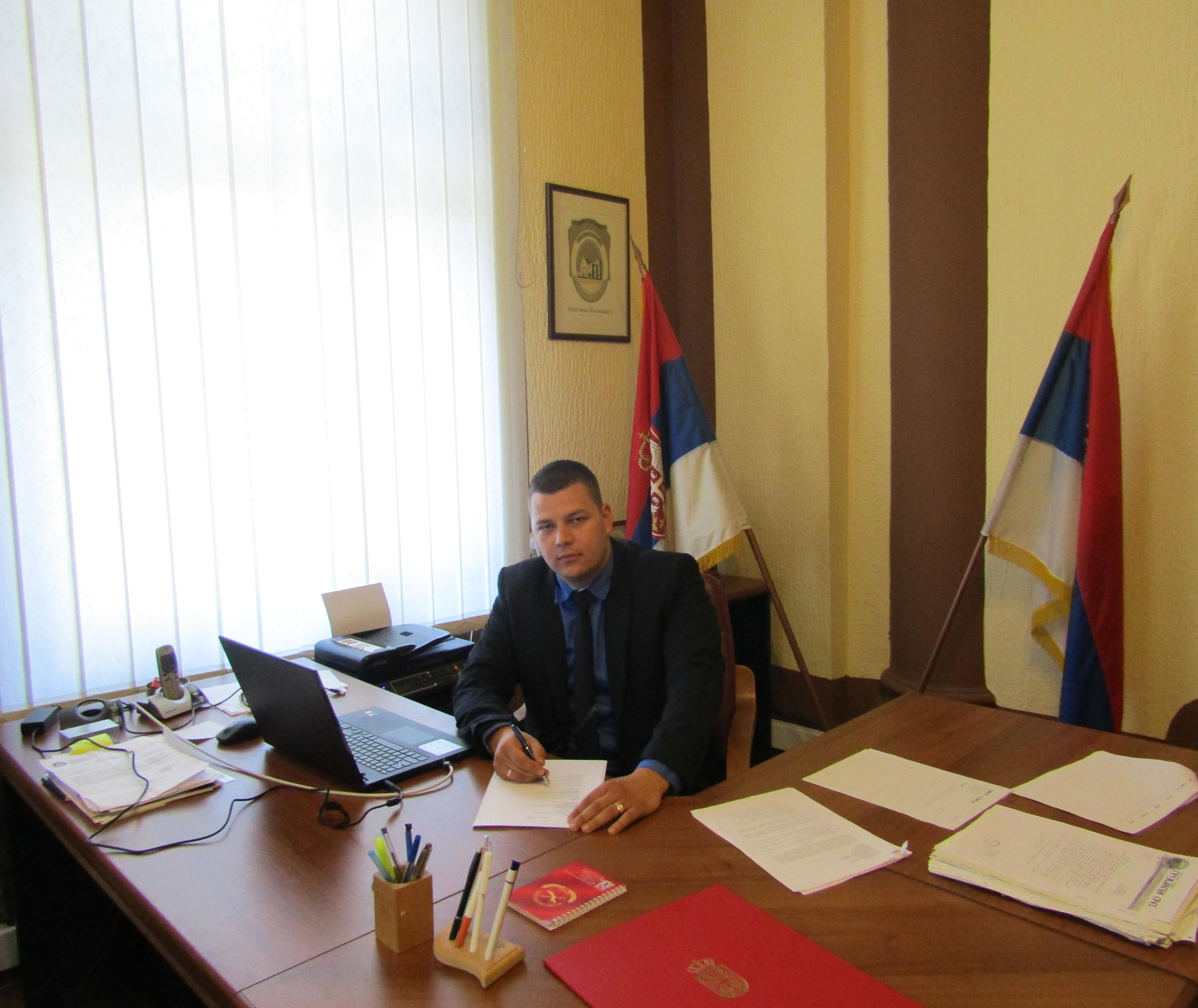 Јован Репац, Председник Општине Пландиште